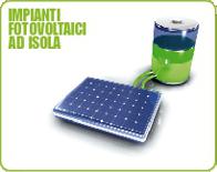 Impianti fotovoltaici ad isola