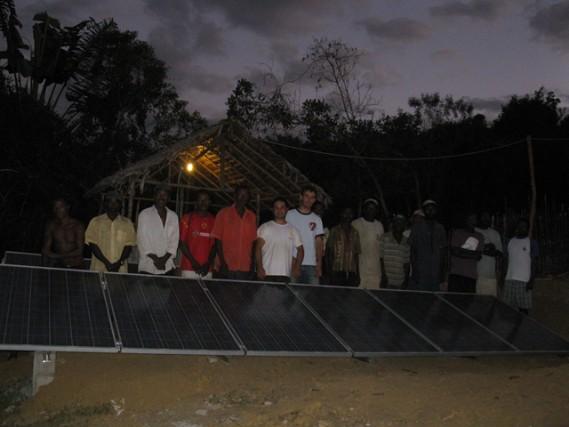 Impianto fotovoltaico in Madagascar